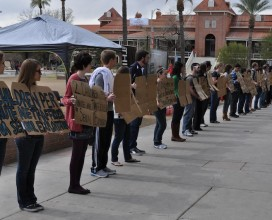University of Arizona Flash Mob