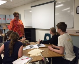 Anne Namuth is an 8th grade Language Arts teacher from Broomfield, Colorado. She recently facilitated The Empower Youth Program with her students.